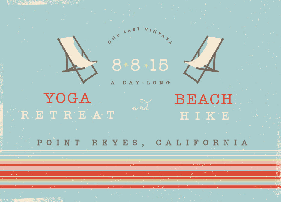 August 8th Yoga & Beach Hike